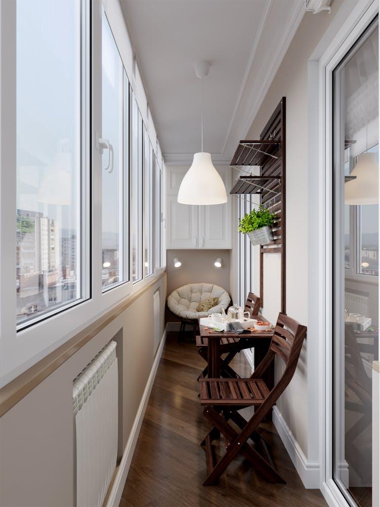 Amenajare balcon inchis