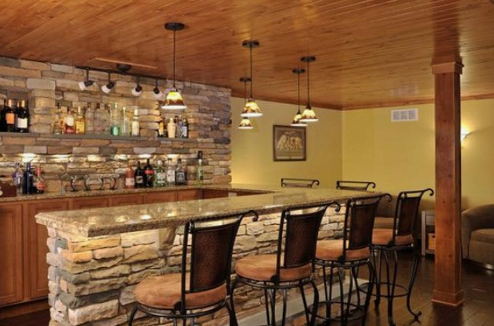 bar in mansarda