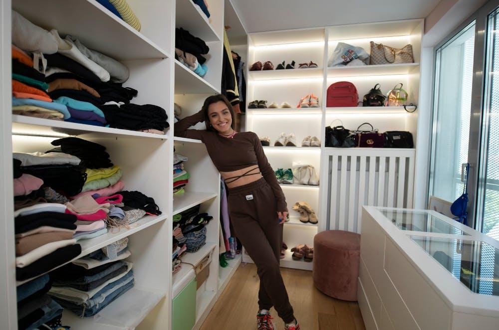 Dressing Alexia Eram