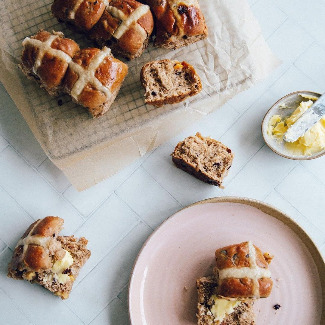 This Is Us Traditional Hot Cross Buns.
