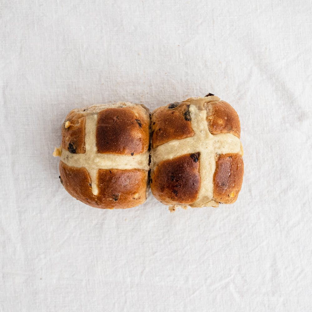 Paddy The Baker Hot Cross Buns (traditional and gluten free)