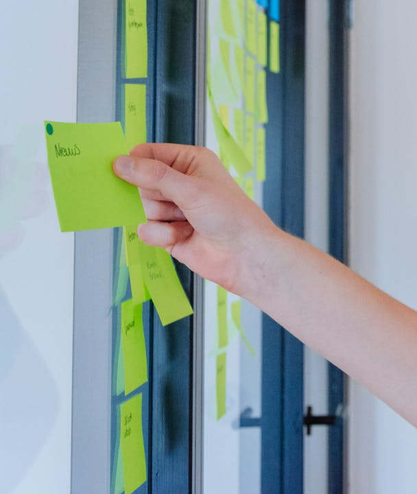 Image of post-its