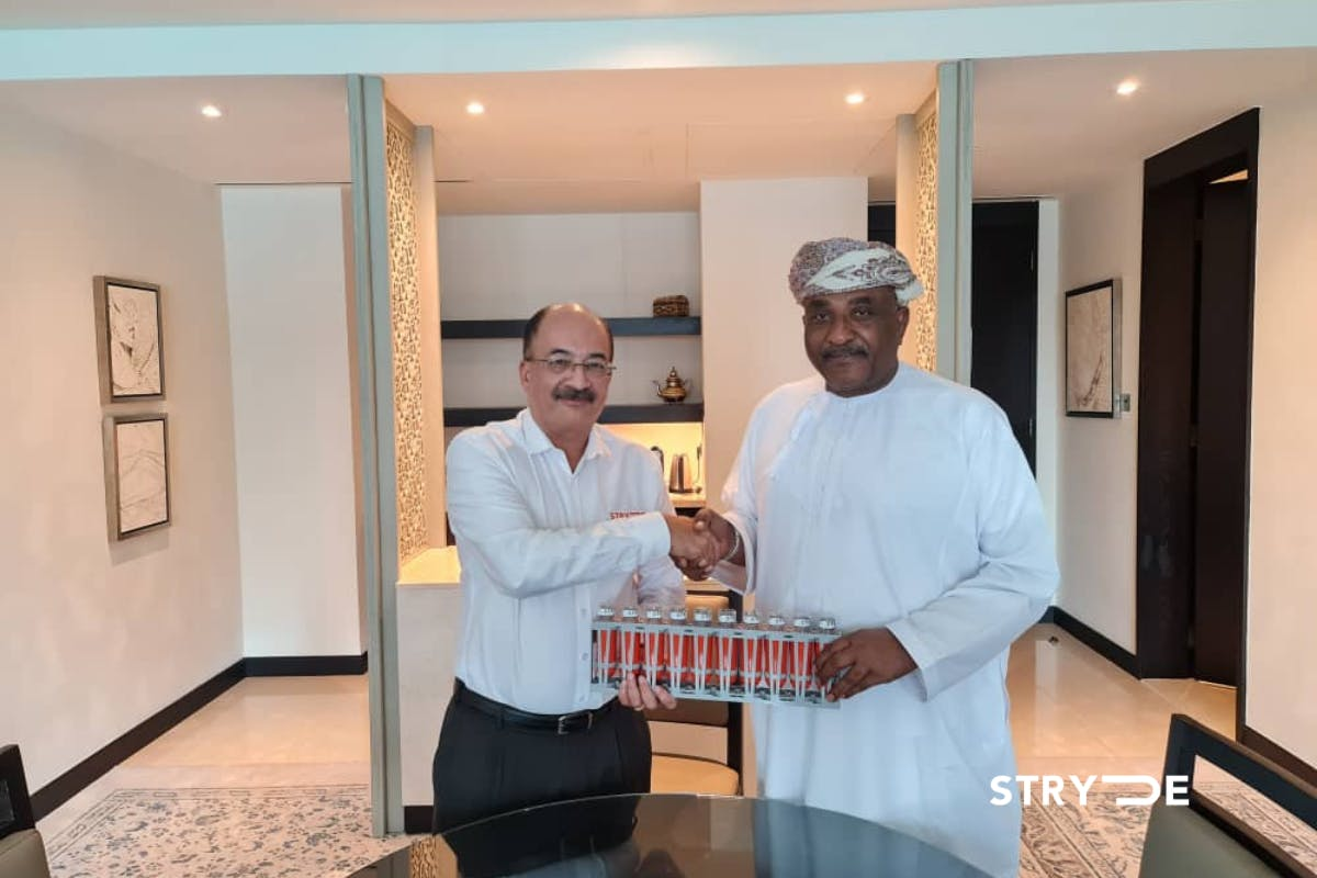 Africa geophysical services and STRYDE deal for seismic exploration in Middle East and Africa