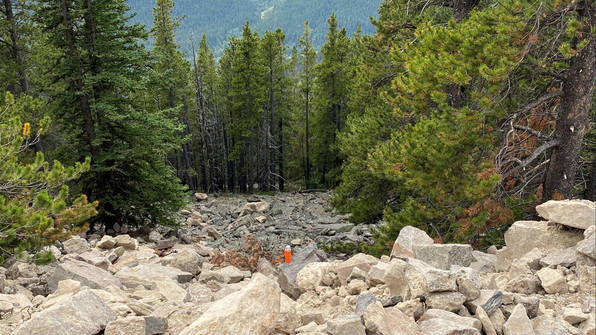 Rocky terrain nodal seismic survey STRYDE