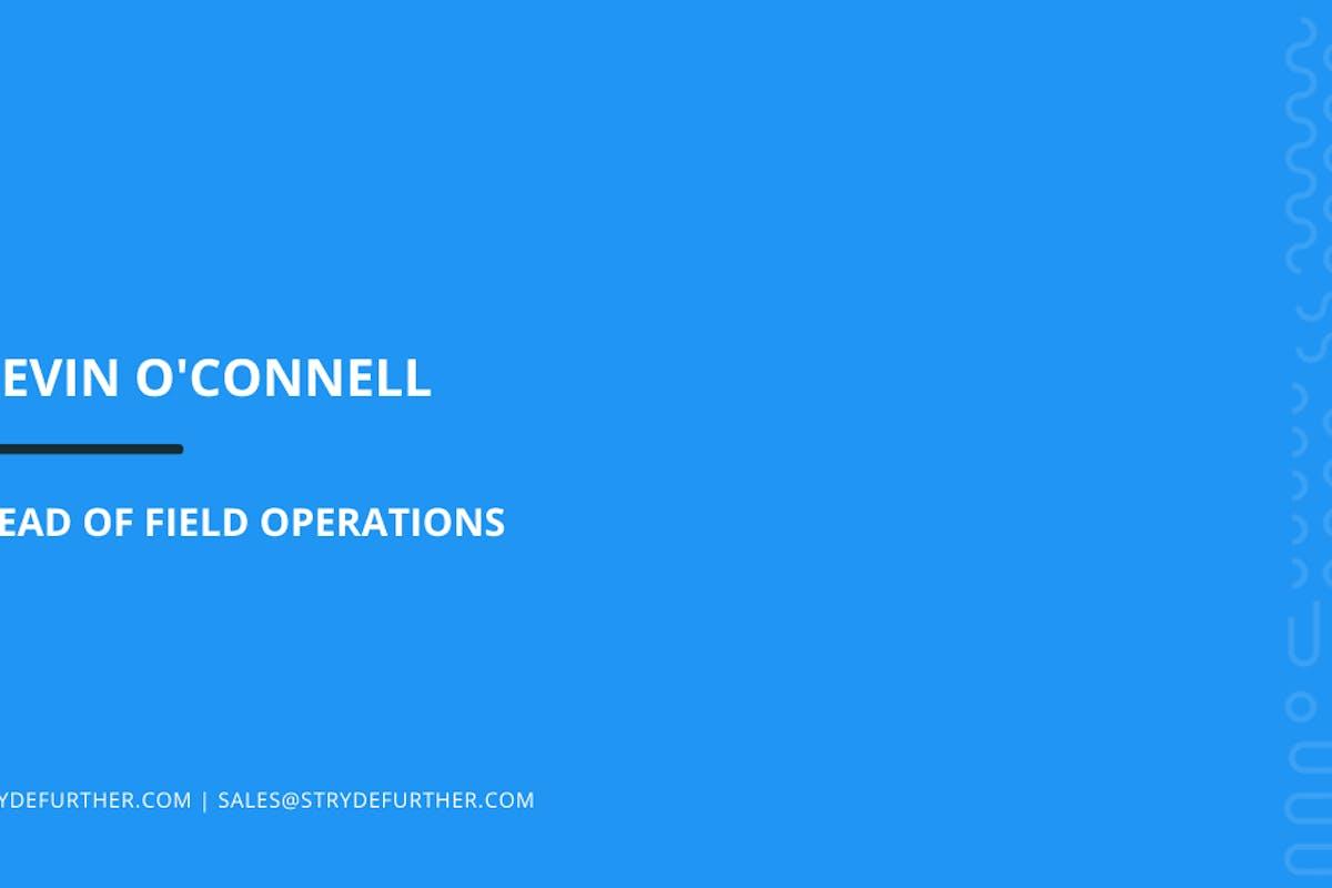 KEVIN O'CONNELL SPOTLIGHT STORY STRYDE