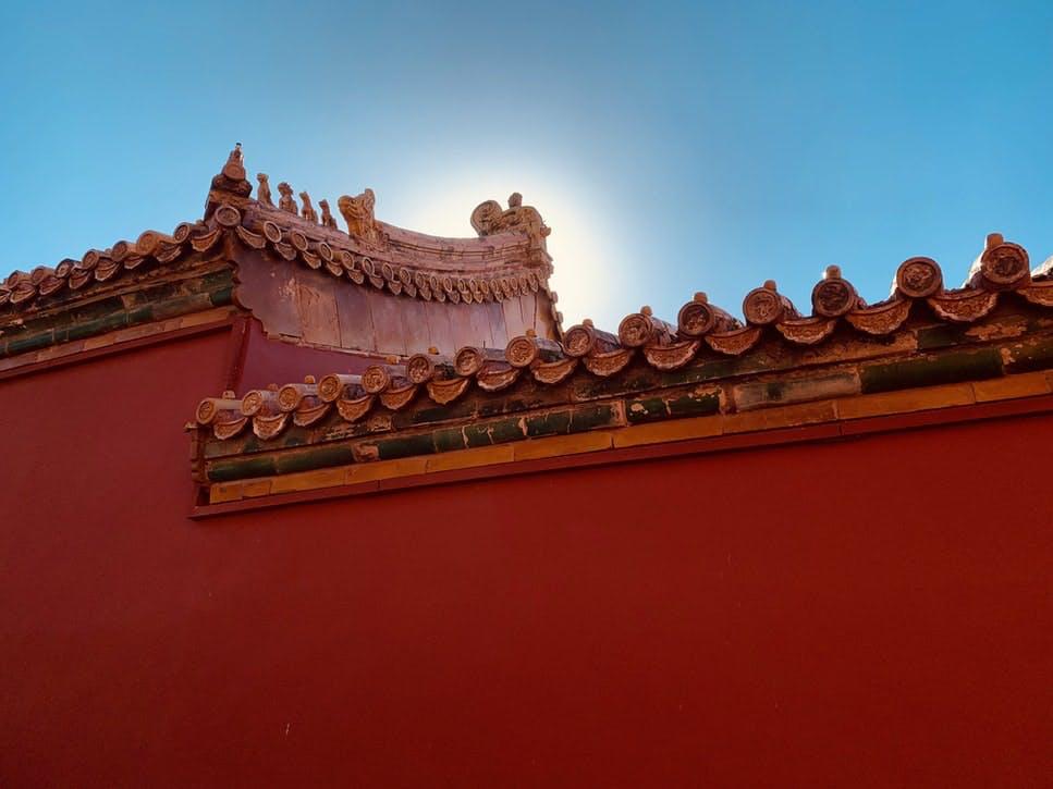 Orange middle eastern wall
