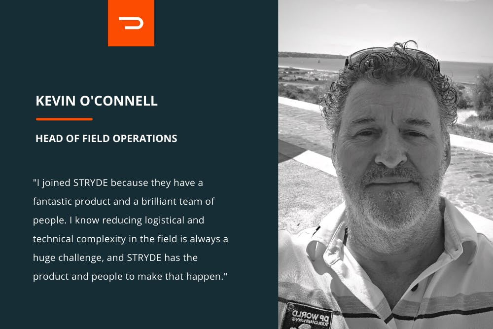 STRYDE Head of Field Operations Kevin O'Connell