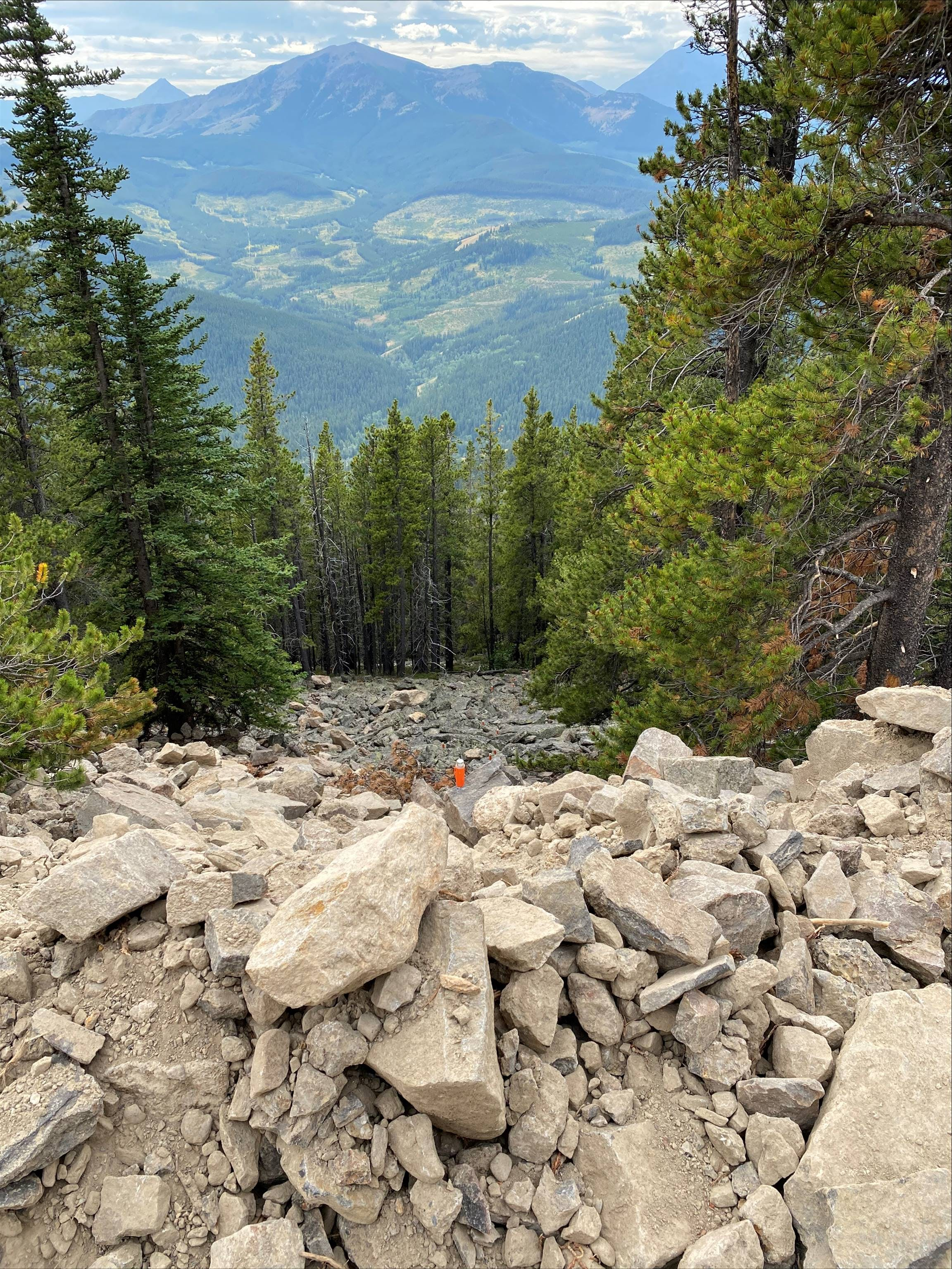 STRYDE seismic survey in Canadian Rocky mountains