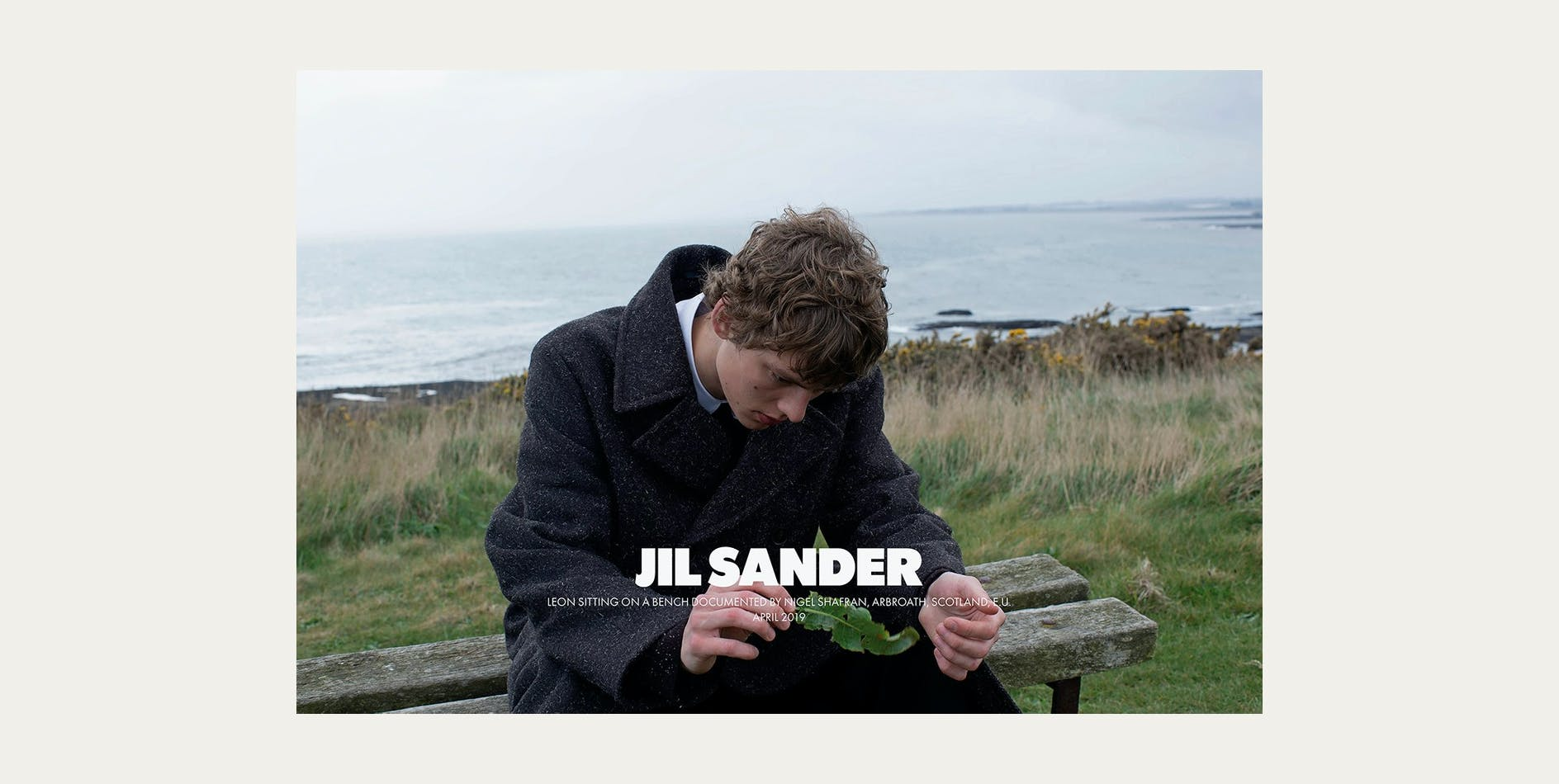 Jil Sander FW19 campaign Nigel Shafran