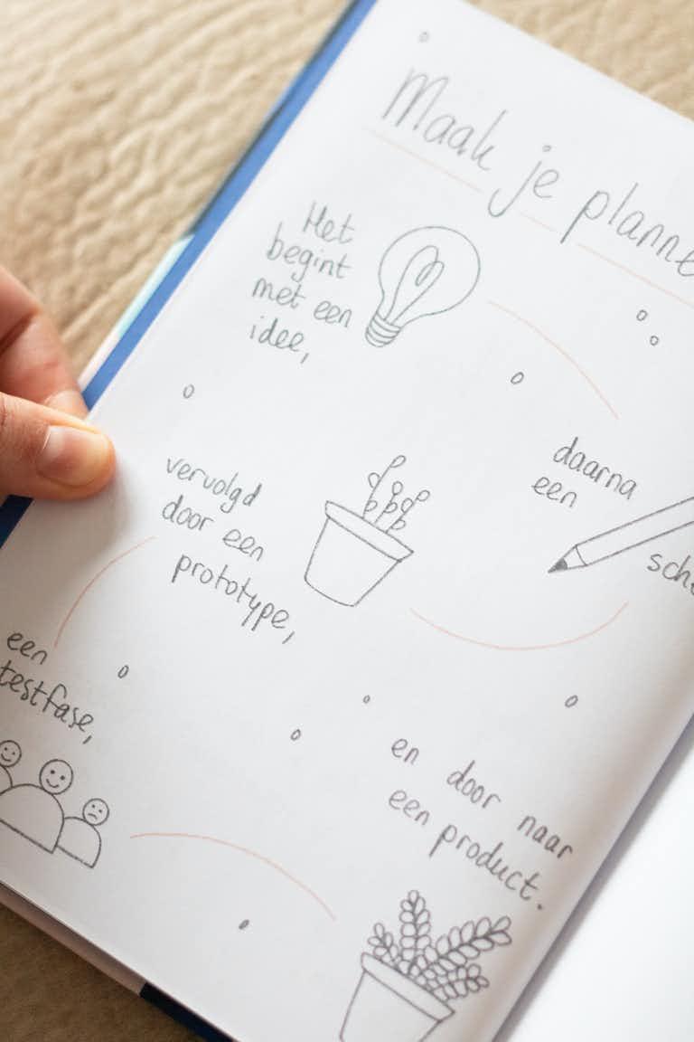 inside notebook wordlenig