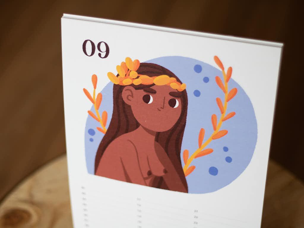 photo virgo illustration zodiac