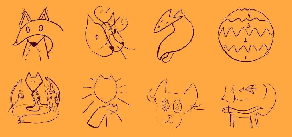 schetsen ideeën vossenjacht opties