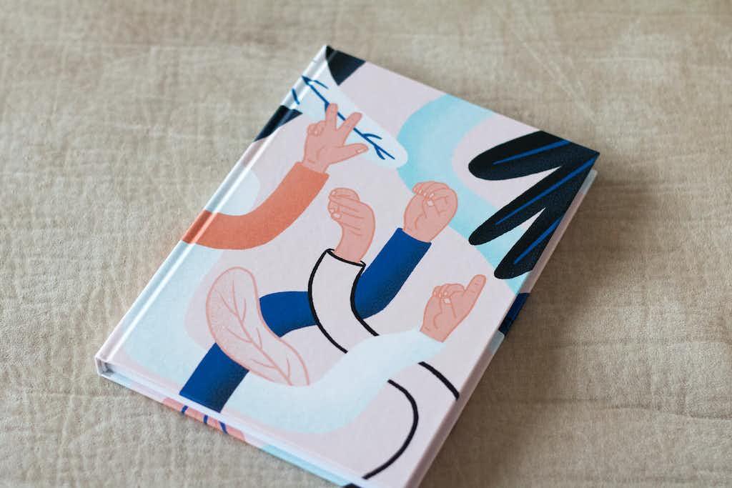 front notebook wordlenig
