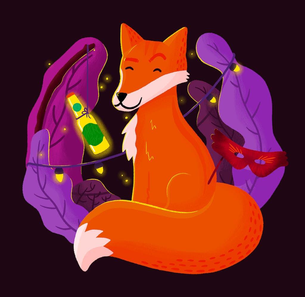 alternatieve afbeelding van vossenjacht