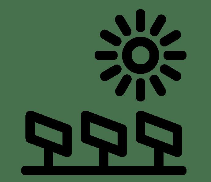 Solar plant design