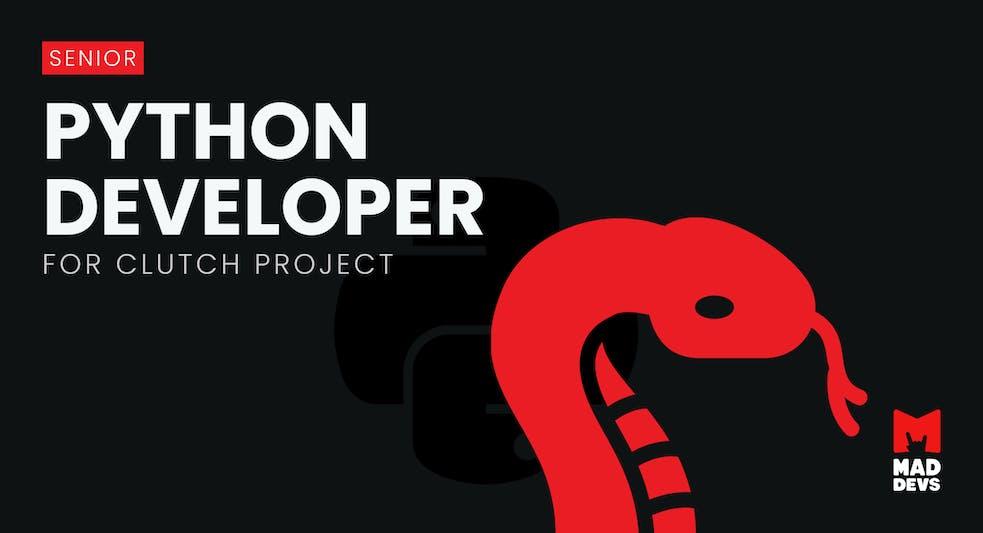 Python Developer for Clutch Project.