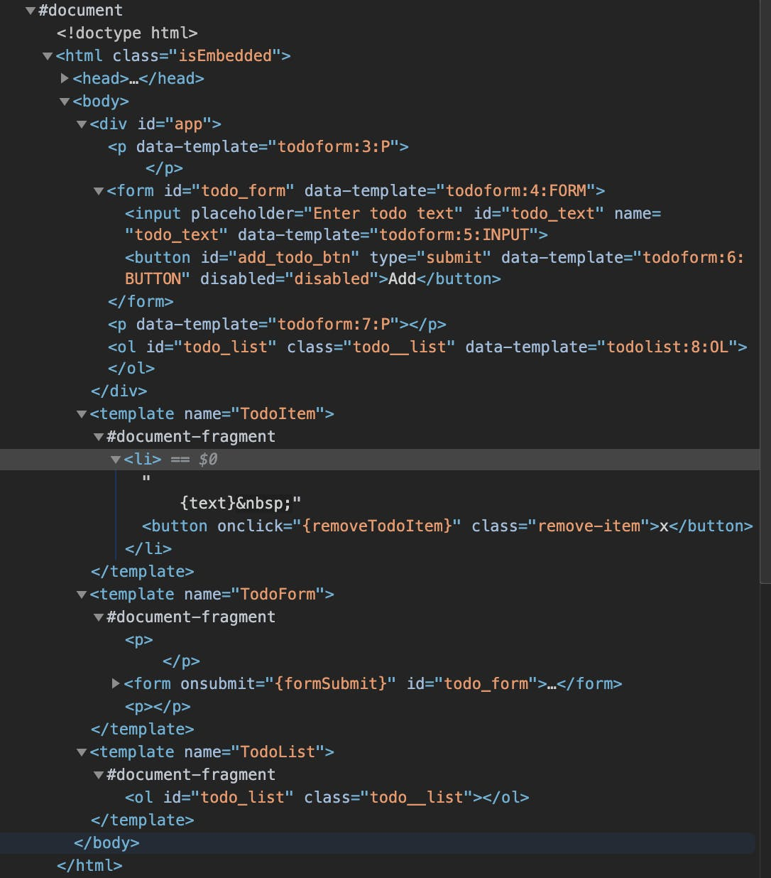And This Is What We Get as a Result of the Work of Our Simple React.