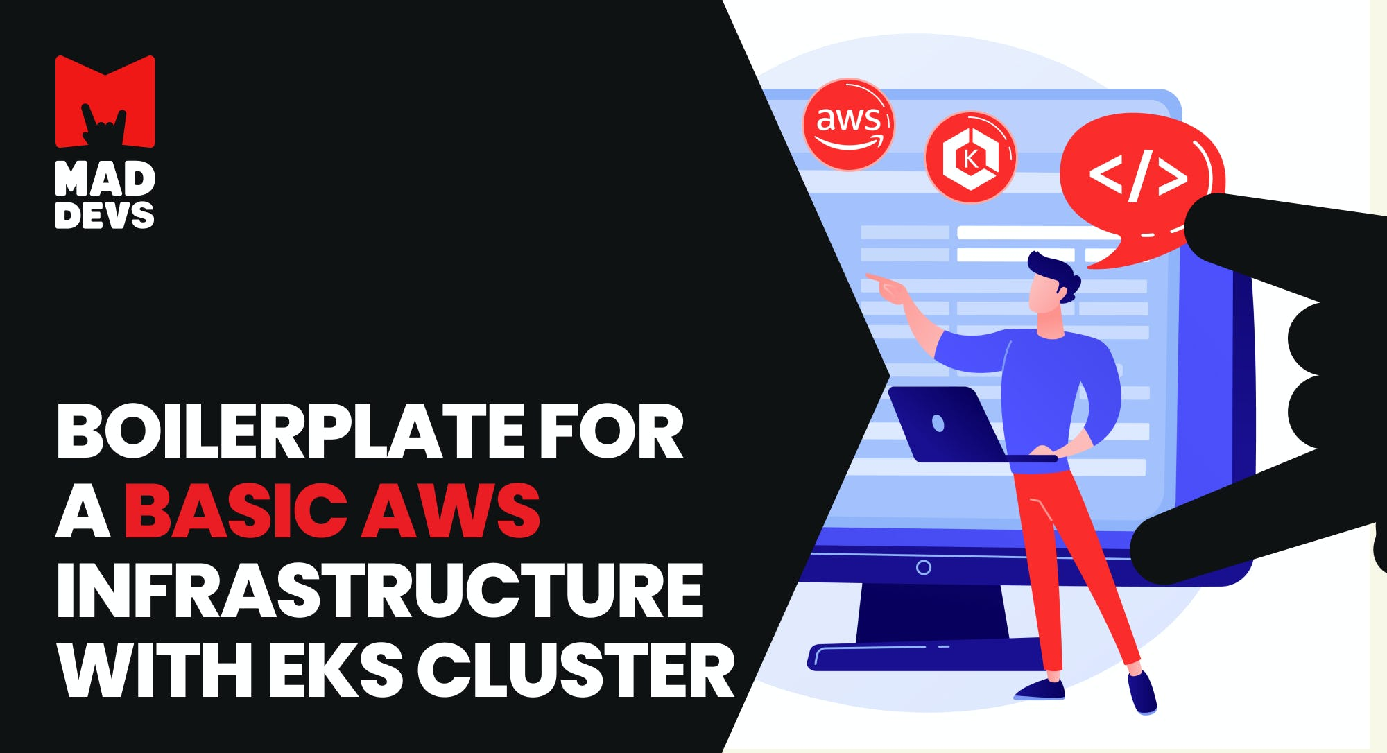 Boilerplate for Basic AWS Infrastructure with EKS Cluster.