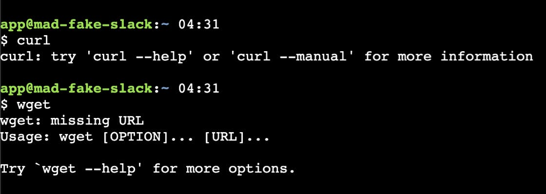 Very Useful `curl` and `wget` Tools.
