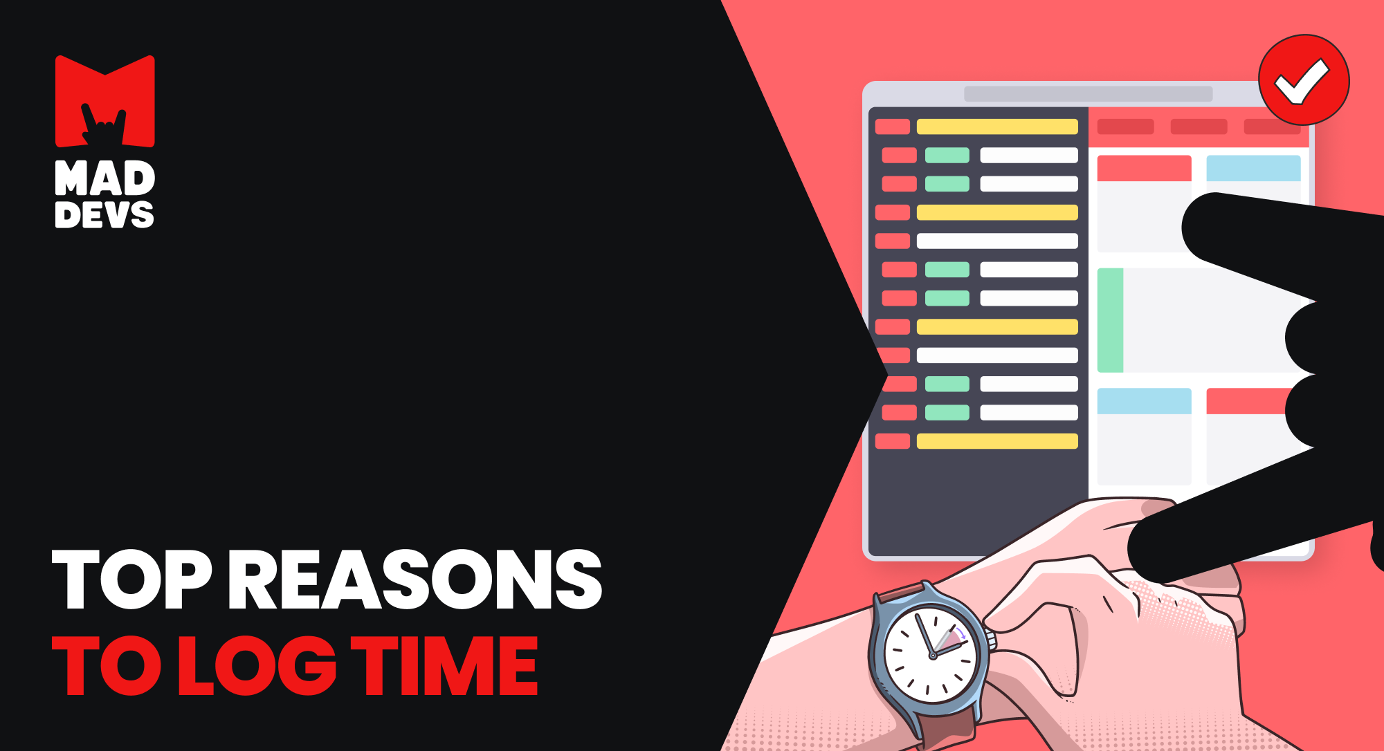 Top Reasons to Log Time.