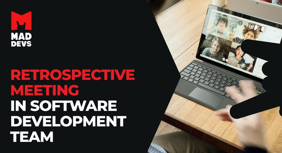 Retrospective Meeting in Software Development Team.