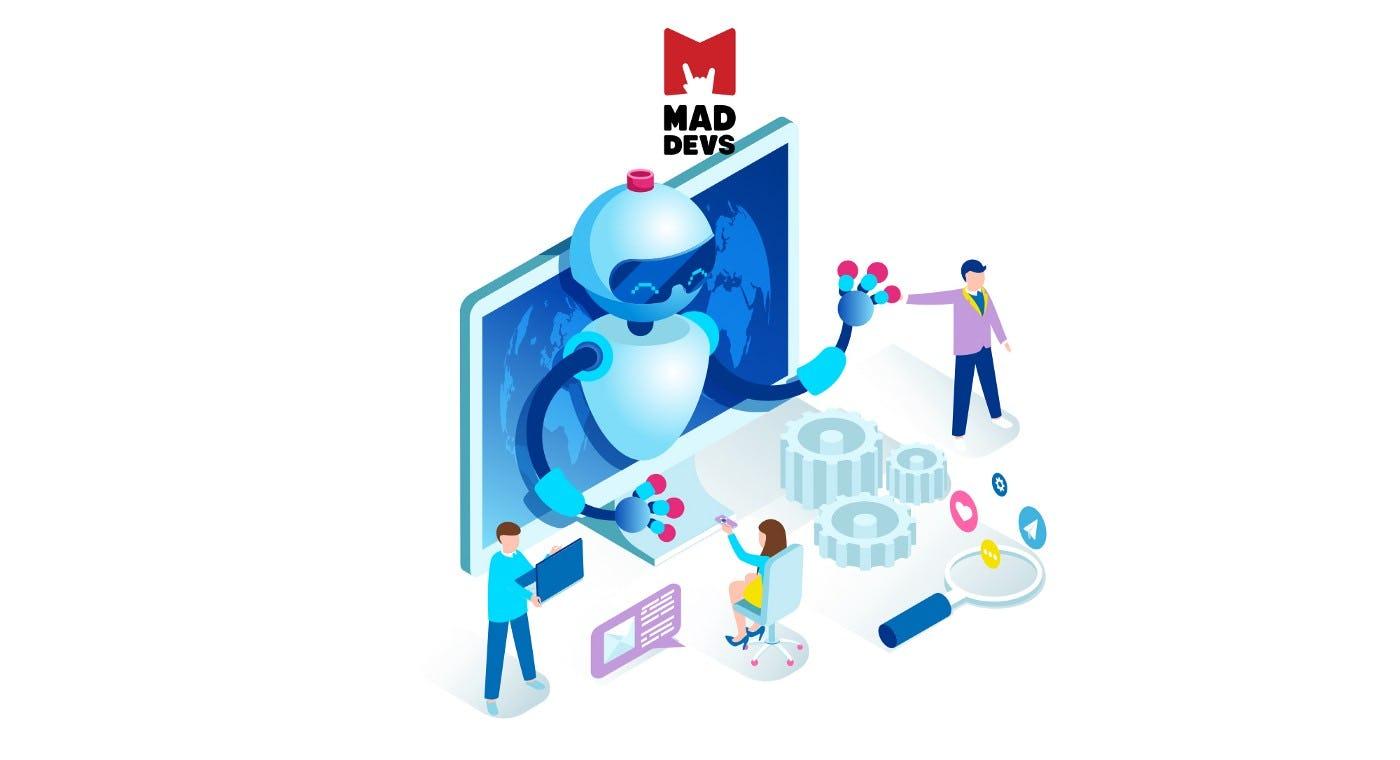 Mad Devs Internship Program Automation.