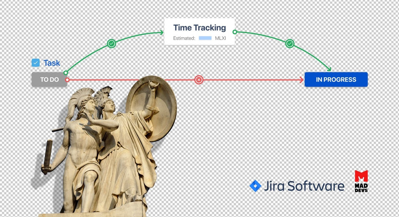 Mad Devs Time Tracking with Jira Software.