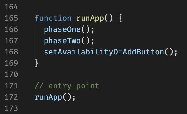 The Entry Point to Our Simple React.