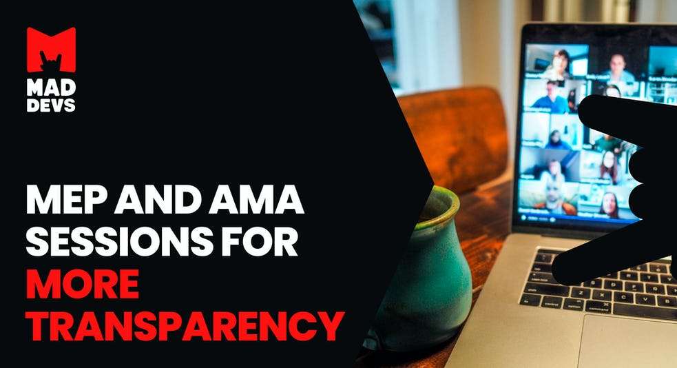 MEP and AMA Sessions for More Transparency.