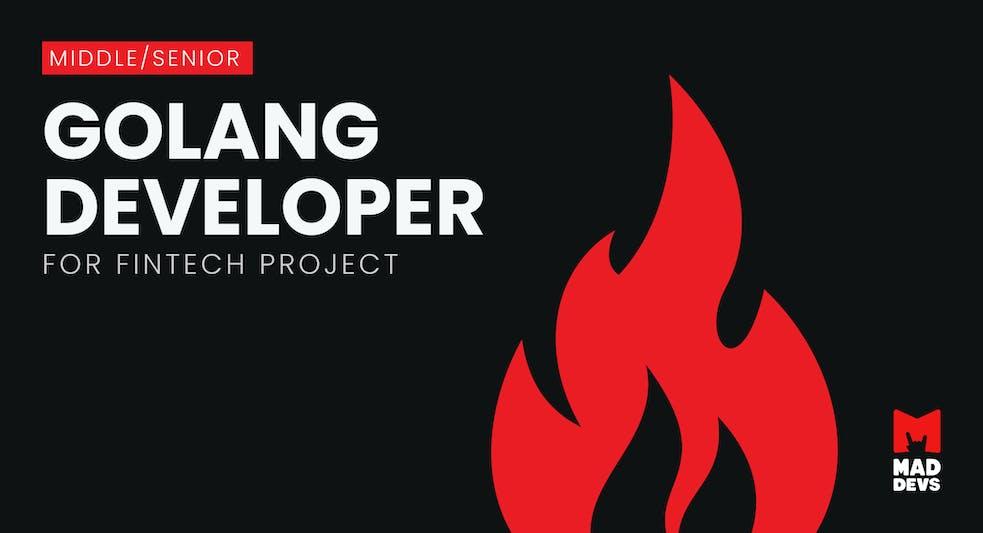 Golang Developer for Fintech Project.