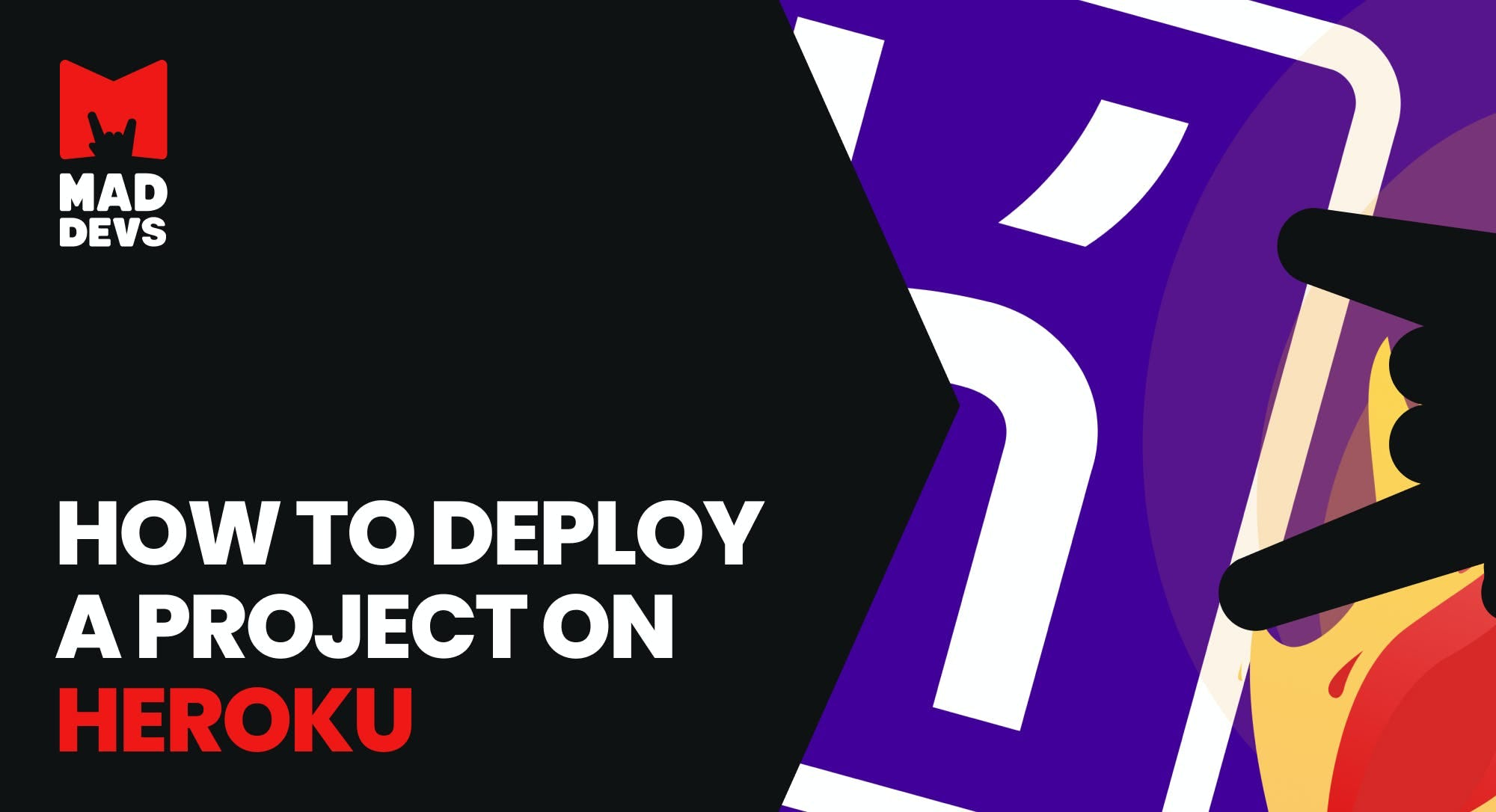 How to Deploy a Project onHeroku.
