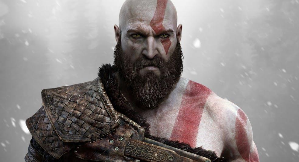 Kratos from God of War Videogame.