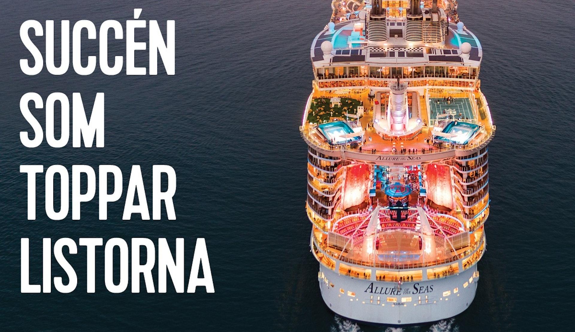 Kryssning från Barcelona med Allure 2022