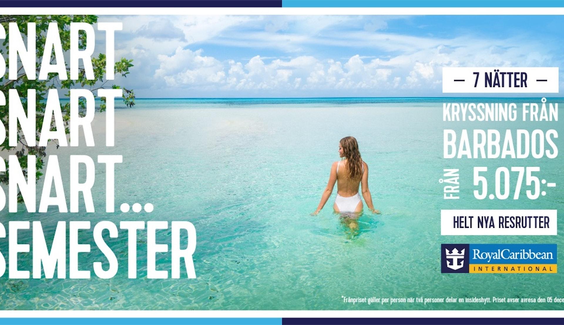 Kryssning från Barbados med Supreme Travel