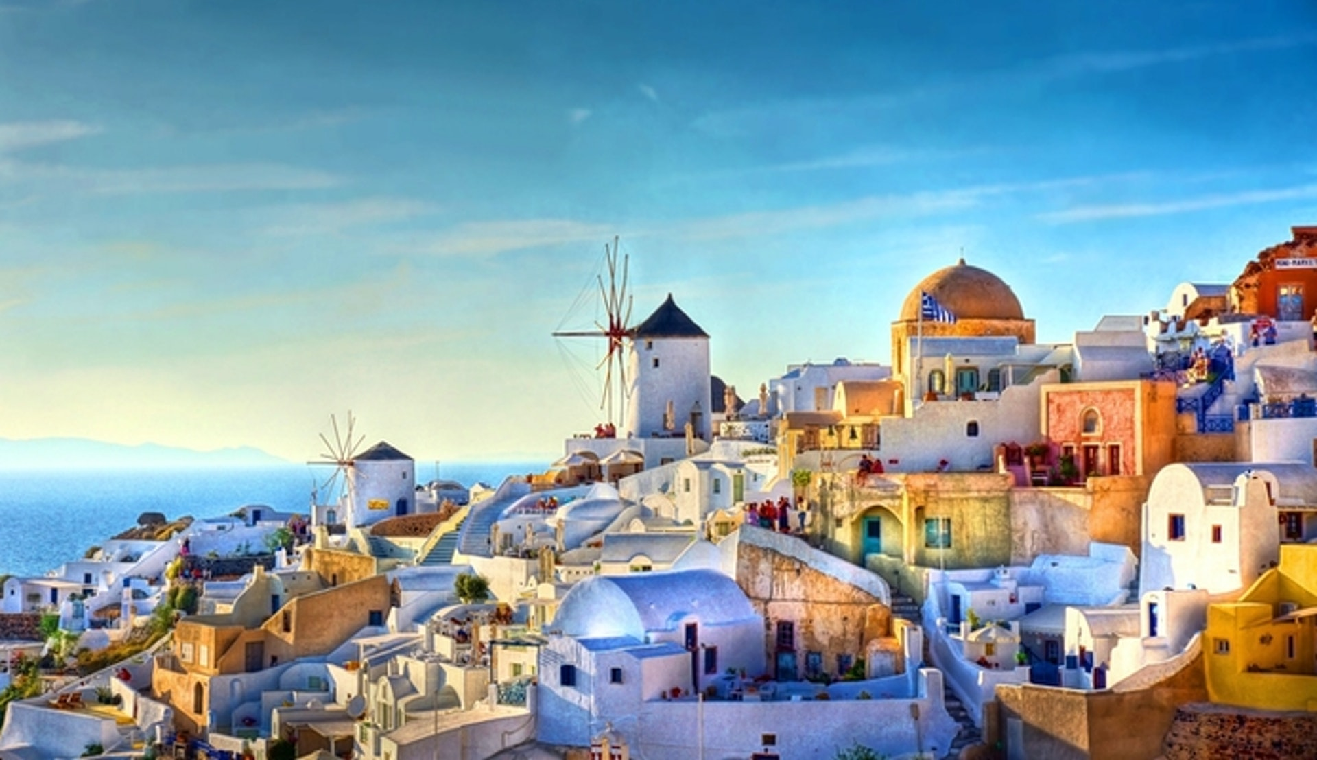 Kryssning Grekland - Santorini