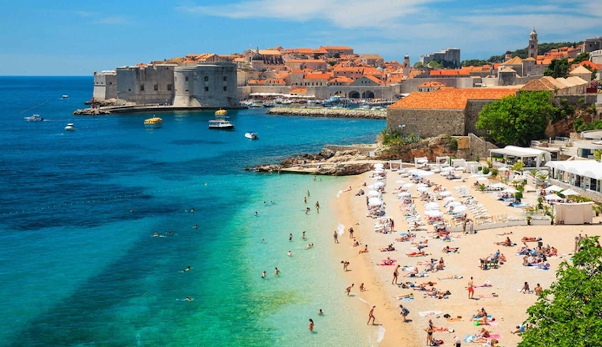 Kryssning Dubrovnik Kroatien