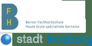 Logo BFH und Stadt Lenzburg