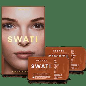 SWATI Bronze Dark Brown Coloured lenses