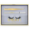 SWATI Glam kit with Vanta eyeliner, lash applicator and tiger's eye lashes.