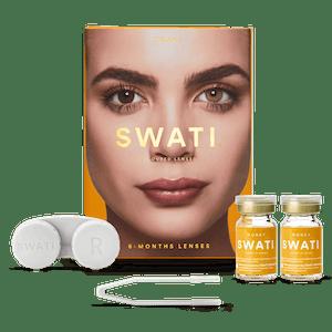 SWATI Honey Hazel Brown Coloured lenses