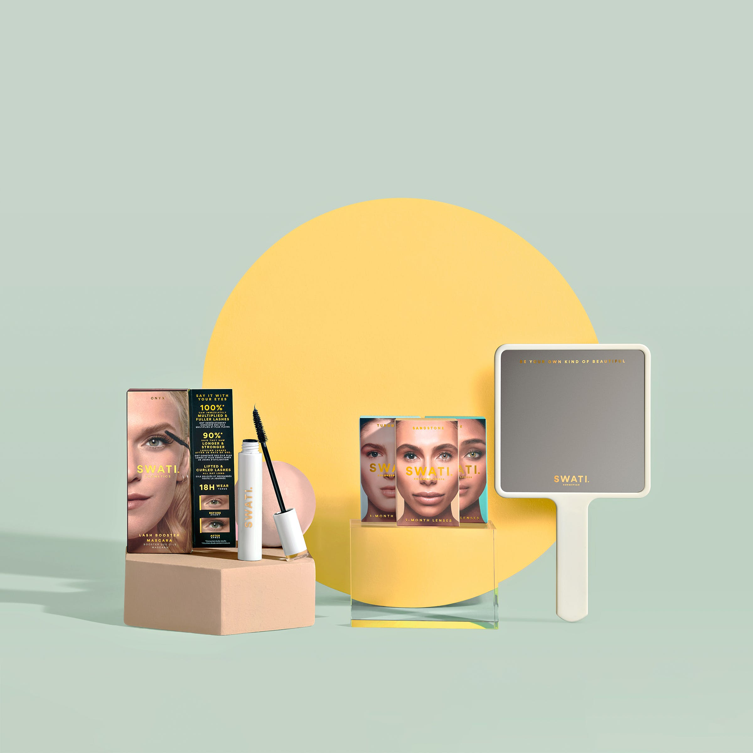 Beauty on the fly set by Swati Verma, Customisable bundle