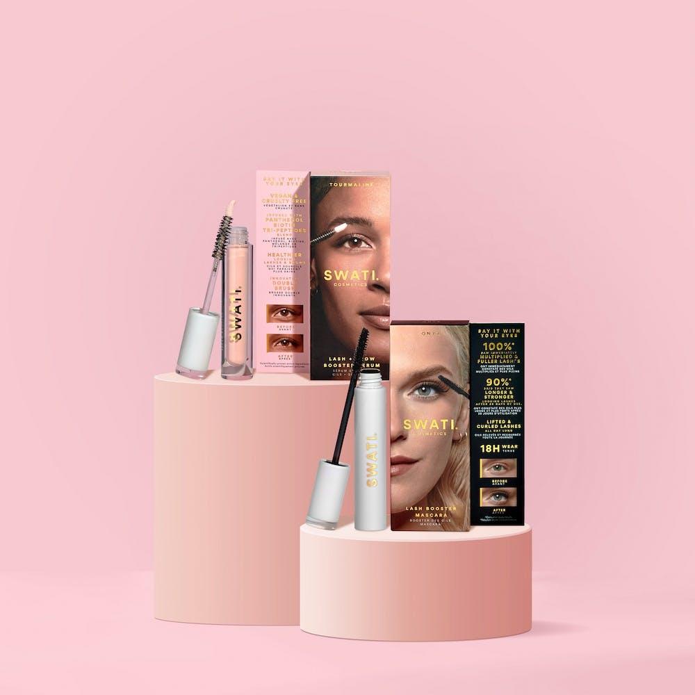 Lash booster duo bundle from SWATI Cosmetics