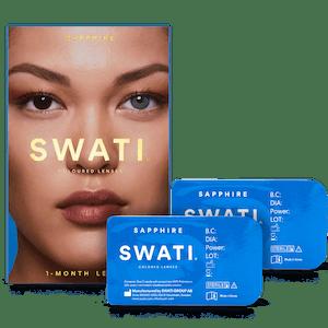 SWATI Sapphire Blue Coloured lenses