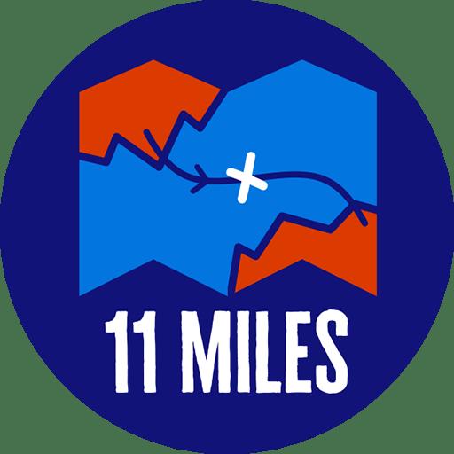 11 miles