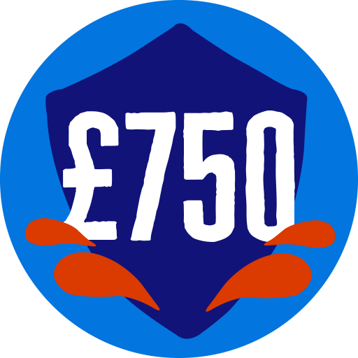 Raised £750