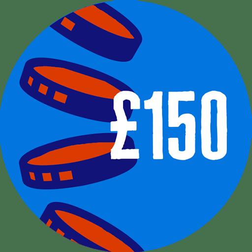 Raised £150