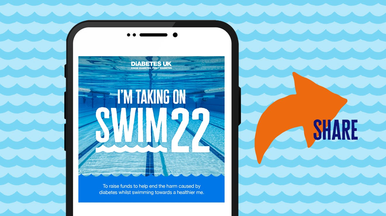 I'm taking on Swim22 banner 1