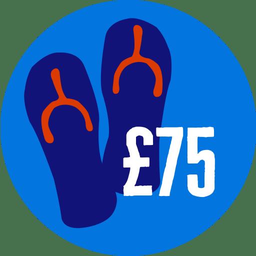 Raised £75