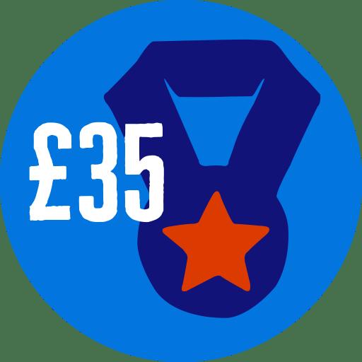Raised £35
