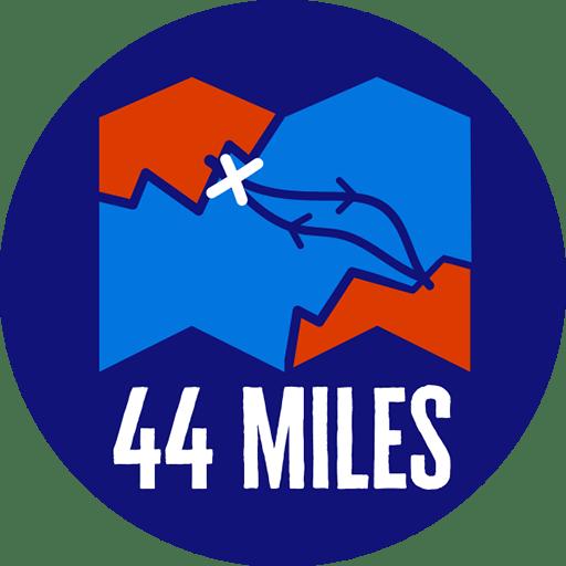 44 miles